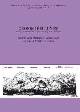 ORONIMI BELLUNESI N. 10