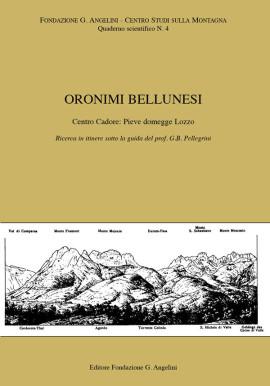 ORONIMI BELLUNESI N. 4