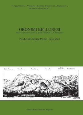 ORONIMI BELLUNESI N. 7