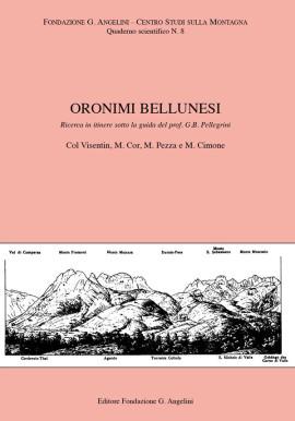 ORONIMI BELLUNESI N. 8
