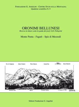 ORONIMI BELLUNESI N. 9