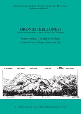 ORONIMI BELLUNESI N. 11