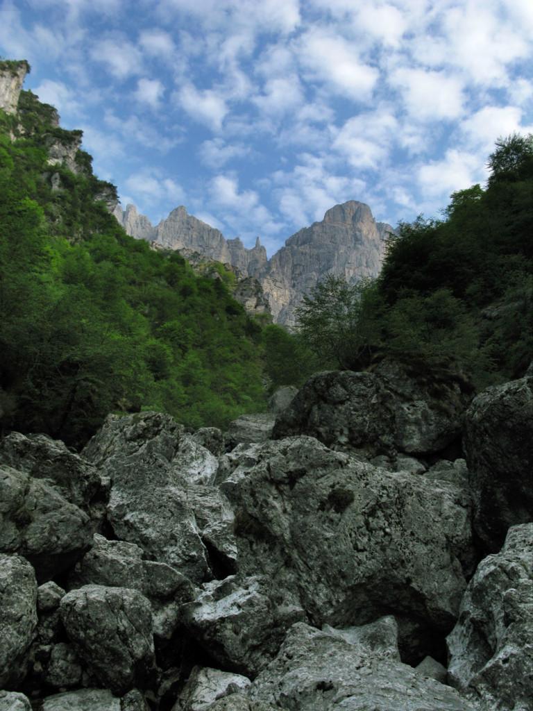 La Schiara dalla Val de l'Ardo